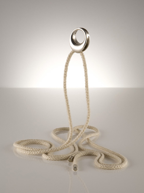 BV Silver Ring on Rope_G